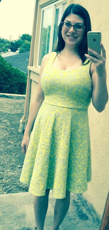 Brixon Ivy Lex Floral Knit Fit & Flare Dress