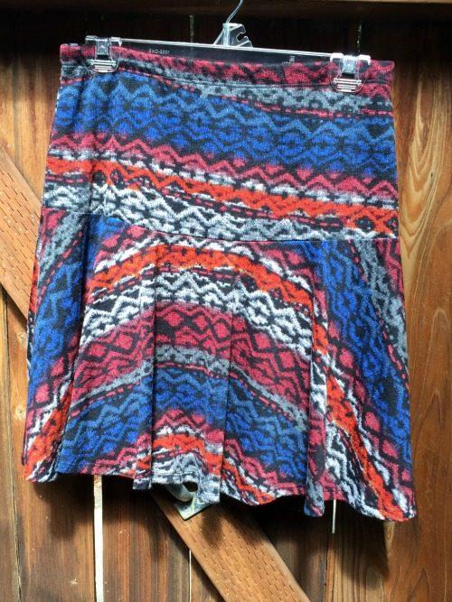 Stitch Fix October 2015 Papermoon Savannah Printed Swing Skirt