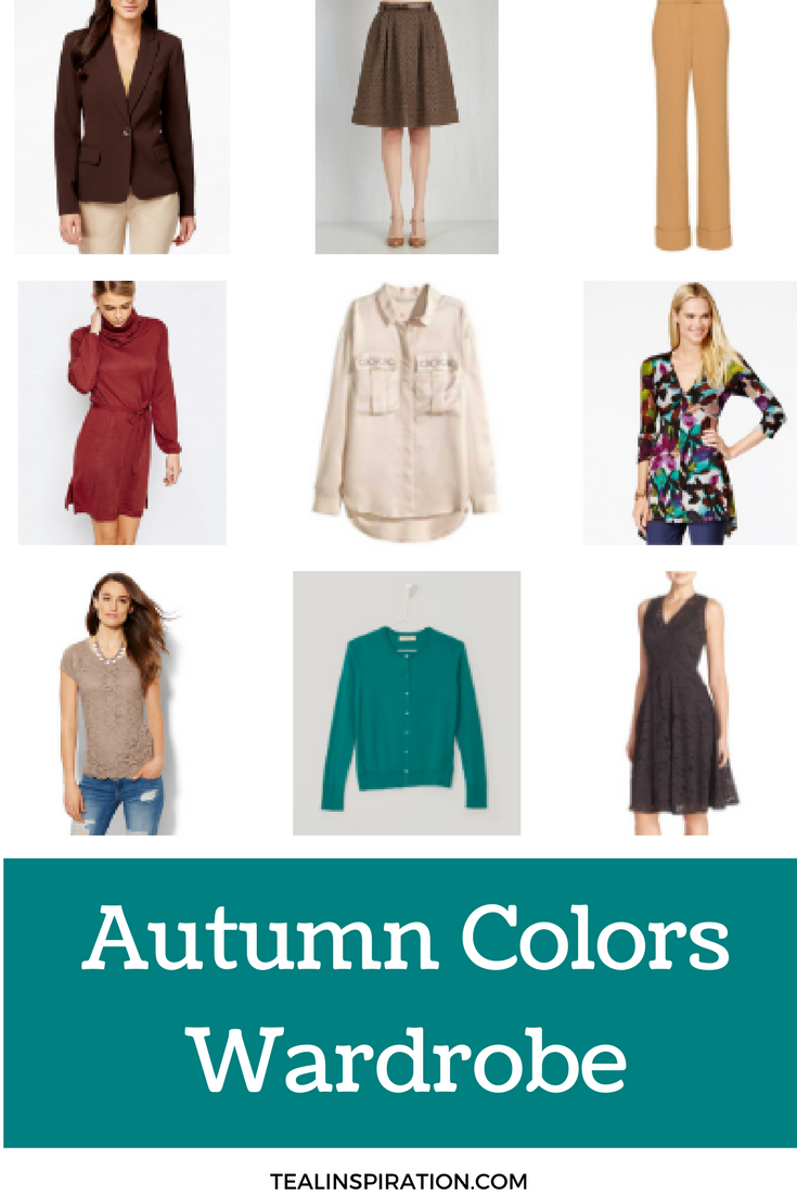 Wall Colour Inspiration: Autumn Color Palette Wardrobe Capsule
