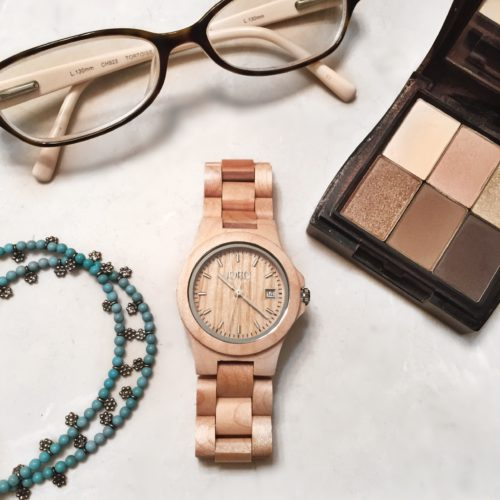Jord Wood Watch Flat Lay