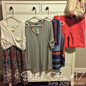 June 2016 Stitch Fix Review