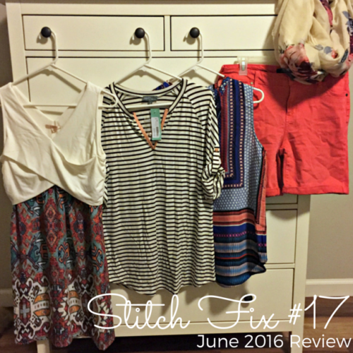 June 2016 Stitch Fix Review