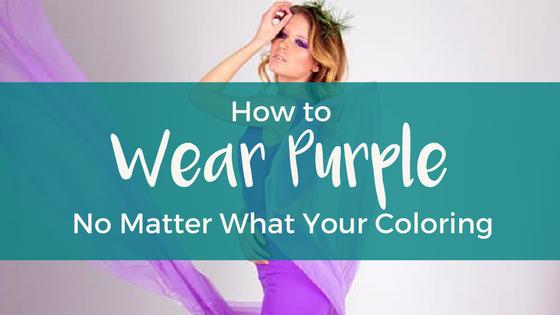 How to Wear Purple